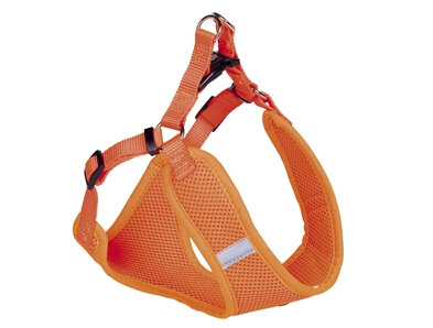 Nobby Hundesele Mesh Orange