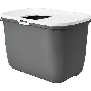Savic Kattetoilet Hop In i Plastik – Antracit – 58,5x39x39,5cm